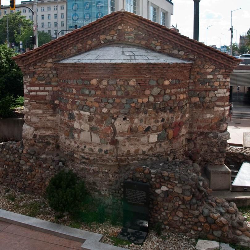 St. Petka Church, The alleged burial place of Vassil Levski, Sofia, Bulgaria - www.rossiwrites.com