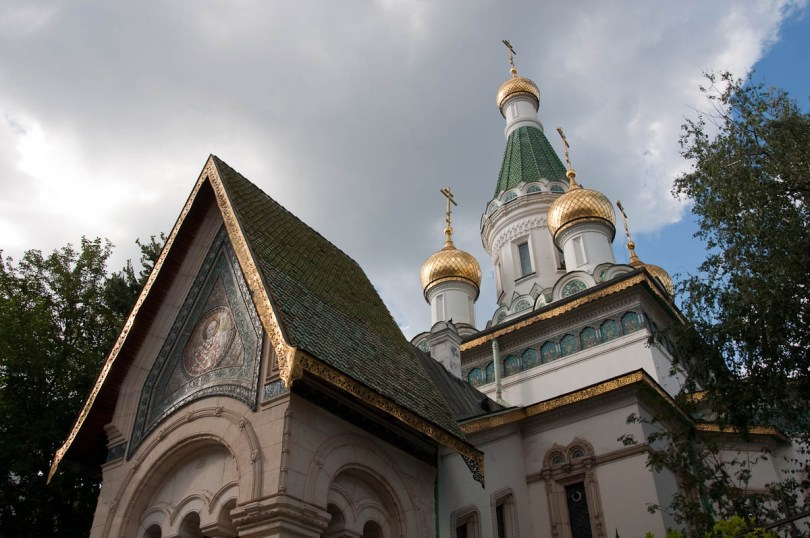 The Russian church, Sofia, Bulgaria - www.rossiwrites.com