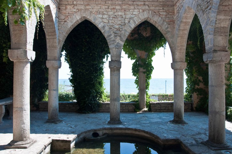 The Temple of Water, Royal Palace 'The Quiet Nest', Balchik, Bulgaria - www.rossiwrites.com