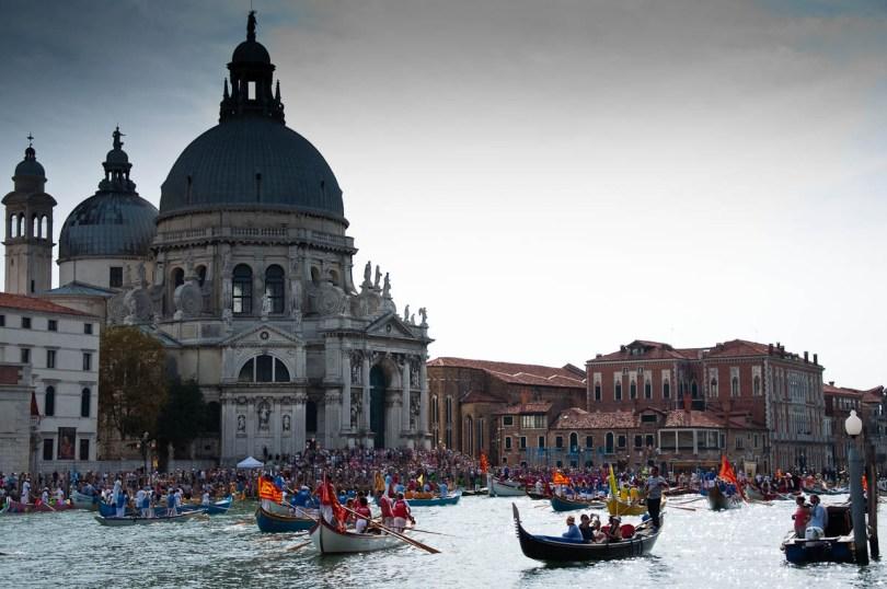 Basilica della Salute - Historical Parade - Venice, Italy - www.rossiwrites.com