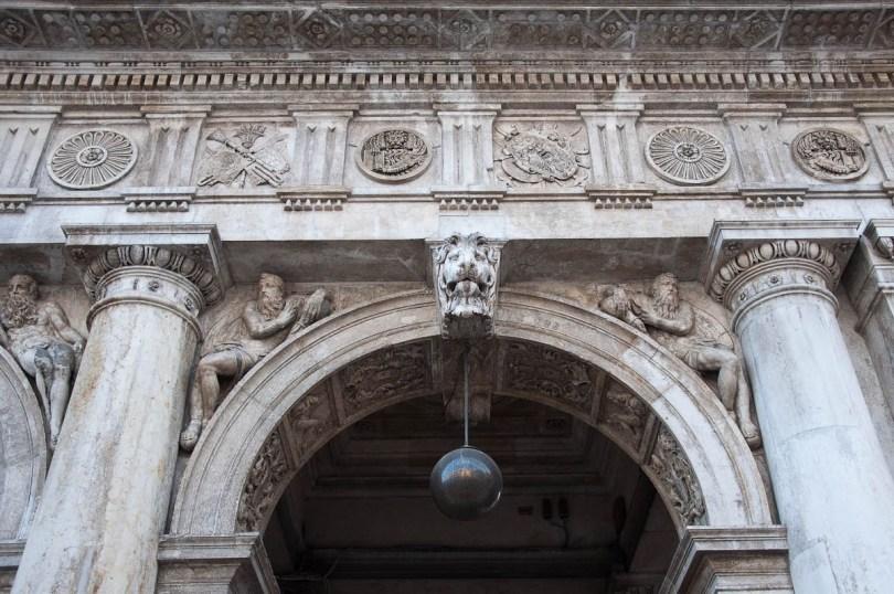 Portico, St. Mark's Square, Venice, Italy - www.rossiwrites.com