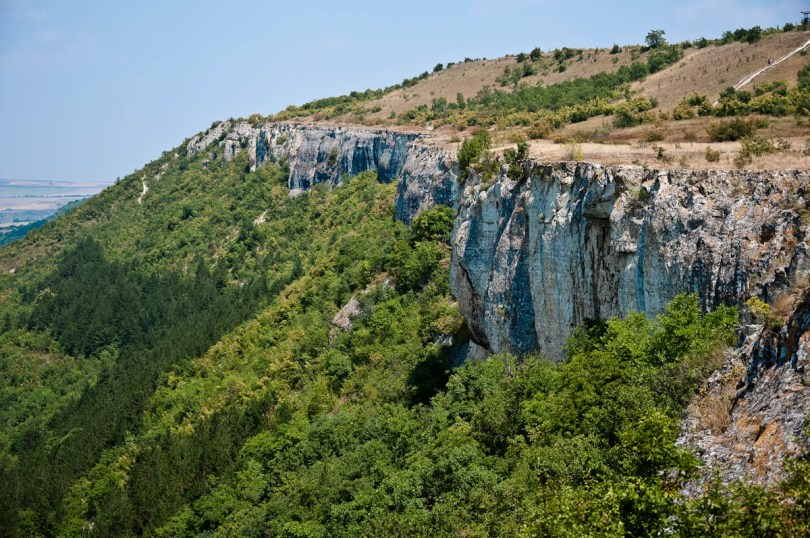 The cliffs above the town of Provadia, Ovech Fortress, Provadia, Bulgaria - www.rossiwrites.com