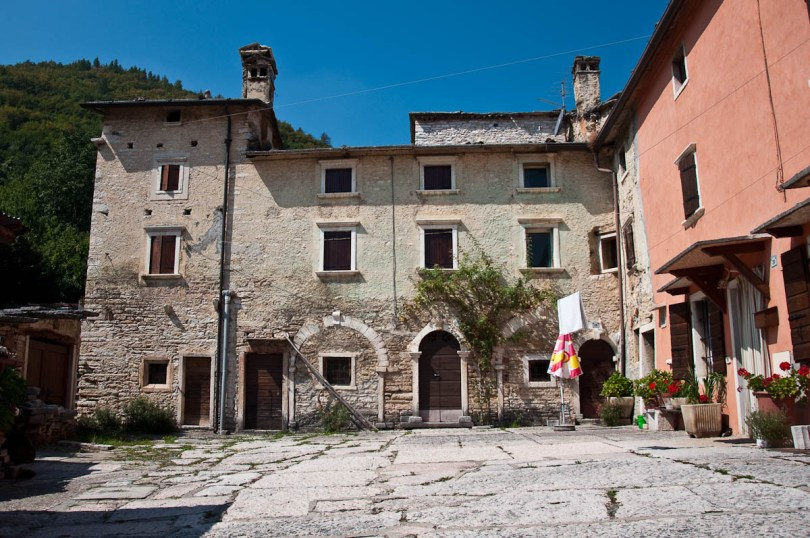 Typical local house, The village of Molina, Province of Verona, Italy - www.rossiwrites.com