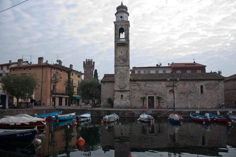 The 12th century San Nicolo church - Lazise, Lake Garda, Italy - www.rossiwrites.com