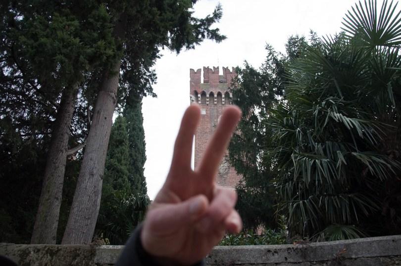 The Scaligeri castle - Lazise, Lake Garda, Italy - www.rossiwrites.com