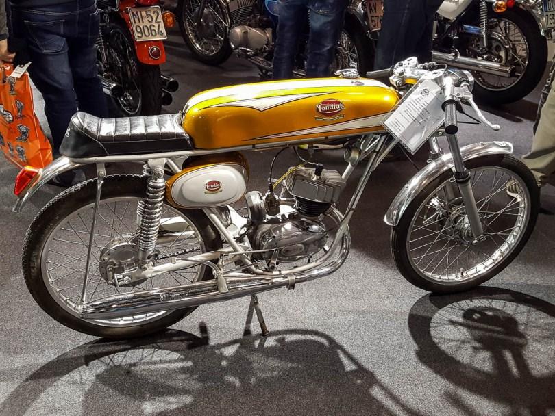 A vintage bike- Verona Motor Bike Expo 2017, Italy - www.rossiwrites.com
