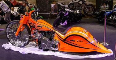 Customised bike - Verona Motor Bike Expo 2017, Italy - www.rossiwrites.com
