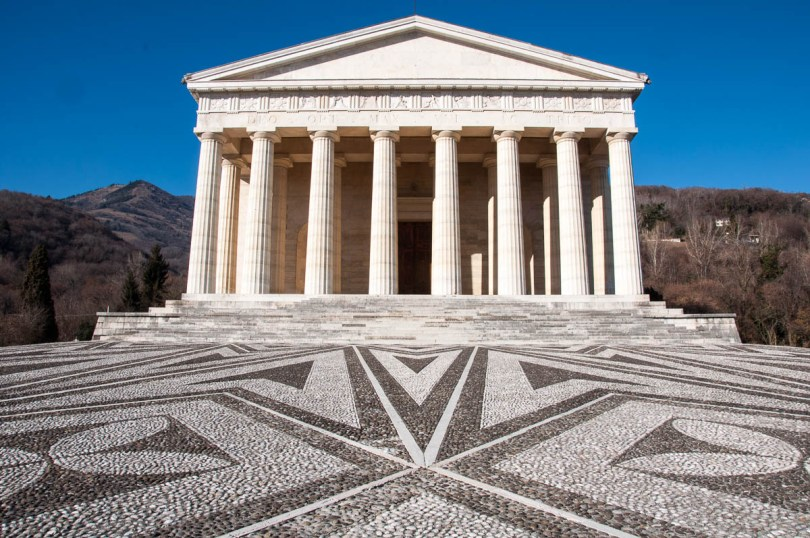 The Tempio Canoviano or the Temple of Canova - Possagno, Treviso, Veneto, Italy - www.rossiwrites.com