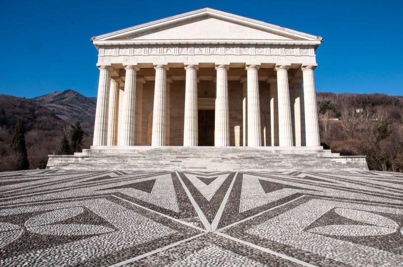 The Tempio Canoviano or the Temple of Canova - Possagno, Treviso, Veneto, Italy - www.rossiwrites.com