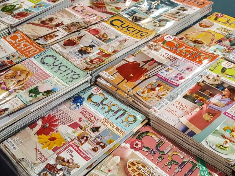 Creative Sewing Magazines - Abilmente Primavera 2017 - Vicenza, Italy - www.rossiwrites.com