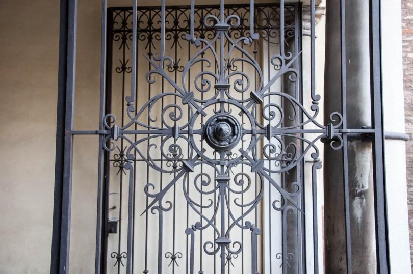 Ironwork - The Archbishop's Palace - Ravenna, Emilia Romagna, Italy - www.rossiwrites.com