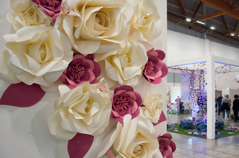 Paper Flowers by Monica dal Molin - Abilmente Primavera 2017 - Vicenza, Italy - www.rossiwrites.com