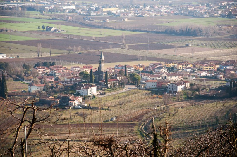 The village of Castegnero - Colli Berici, Vicenza, Italy - www.rossiwrites.com