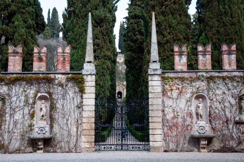 The main entrance, Giardino dei Giusti - Verona, Veneto, Italy - www.rossiwrites.com
