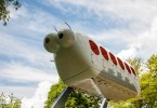 A caterpillar fairground ride - Sea Garden, Varna, Bulgaria - www.rossiwrites.com