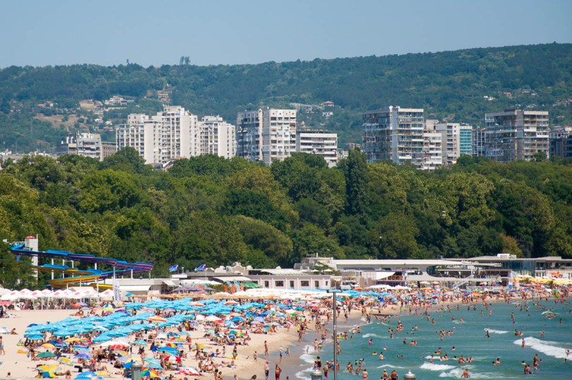 Varna and its beaches - Varna, Bulgaria - www.rossiwrites.com