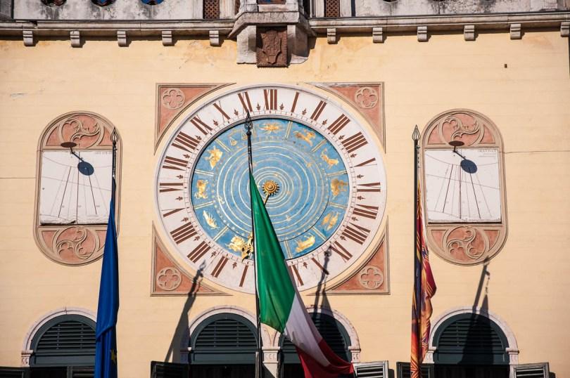 Astronomical clock - Bassano del Grappa, Veneto, Italy - www.rossiwrites.com