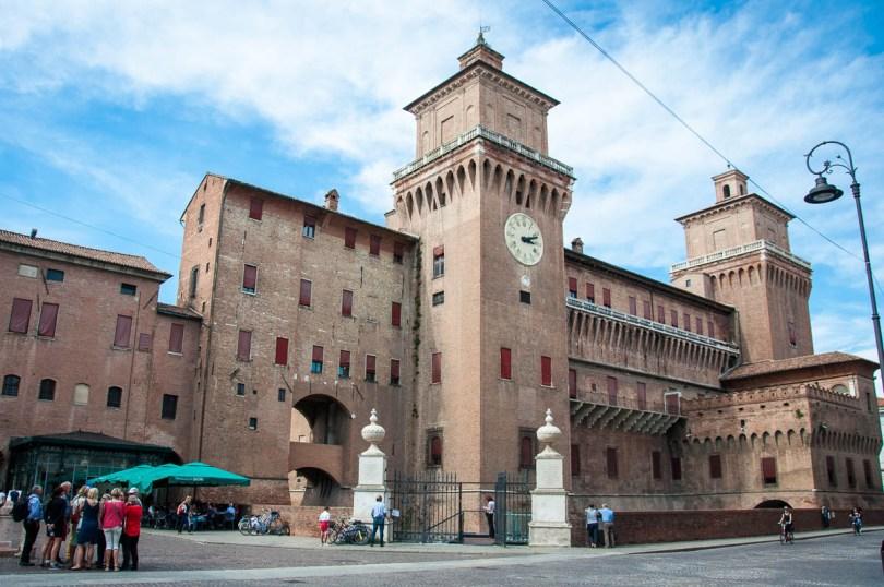 Castello Estense - Ferrara, Emilia-Romagna, Italy - www.rossiwrites.com