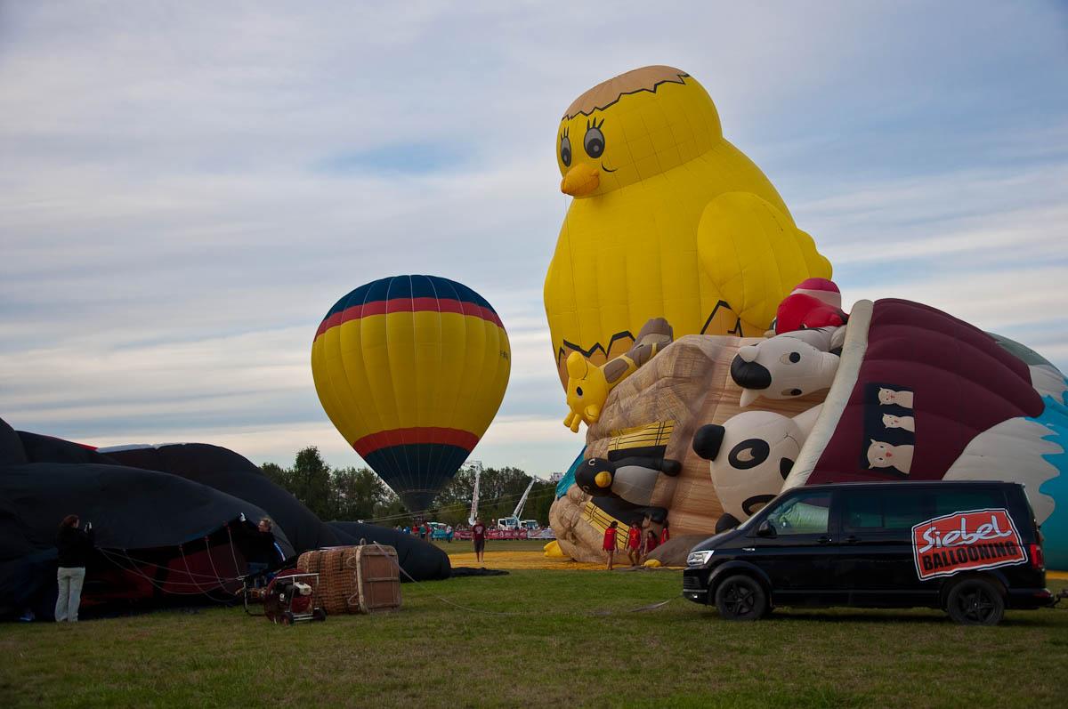 Balloon Festival in Italy