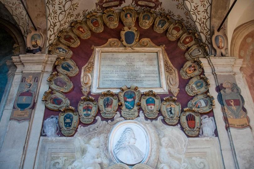 Inside Bologna University - Bologna, Emilia-Romagna, Italy - www.rossiwrites.com