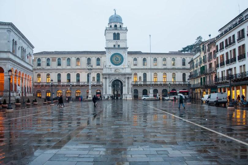 Piazza dei Signori with the Palazzo del Capitanio - Padua, Veneto, Italy - www.rossiwrites.com
