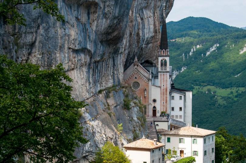 Sanctuary of Madonna della Corona - Spiazzi di Ferrara di Monte Baldo - Verona, Veneto, Italy - www.rossiwrites.com