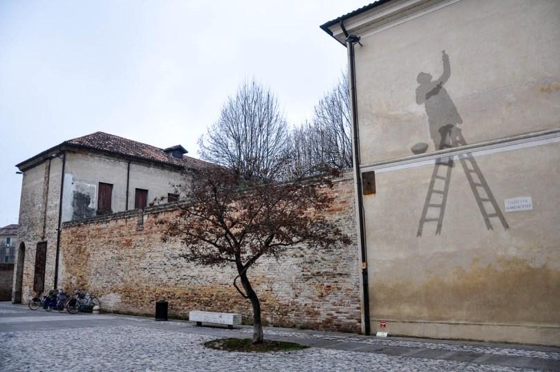 Street art in Treviso - Veneto, Italy - www.rossiwrites.com