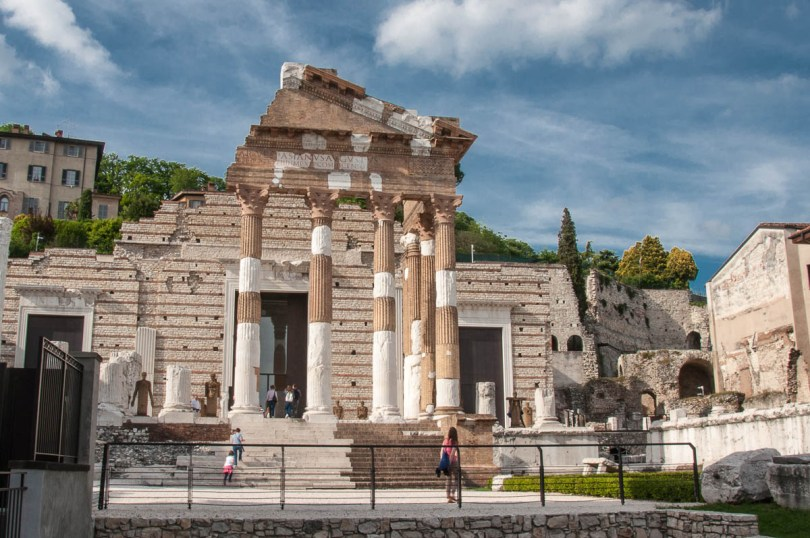 The Capitolium and the Roman Forum - Brescia, Lombardy, Italy - www.rossiwrites.com