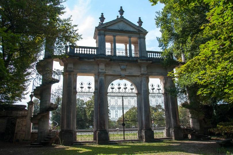 The belvedere - Villa Pisani - Stra, Veneto, Italy - www.rossiwrites.com