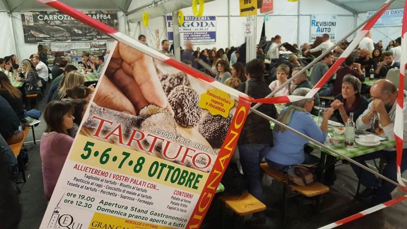 The sagra - Lumignano Truffle Festival - Veneto, Italy - www.rossiwrites.com