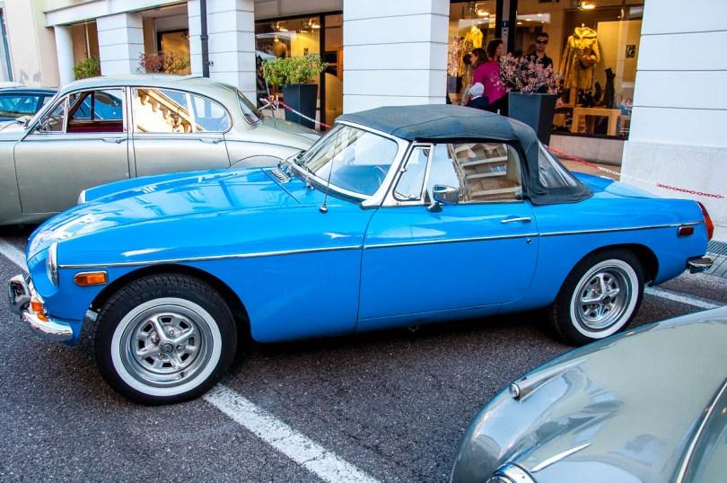 Vintage British car - British Day Schio - Veneto, Italy - www.rossiwrites.com