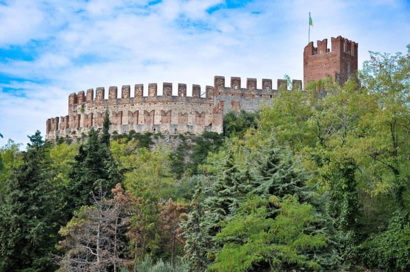 Soave Castle - Province of Verona, Veneto, Italy - www.rossiwrites.com