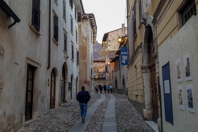 A cobbled street - Ala, Trentino, Italy - www.rossiwrites.com