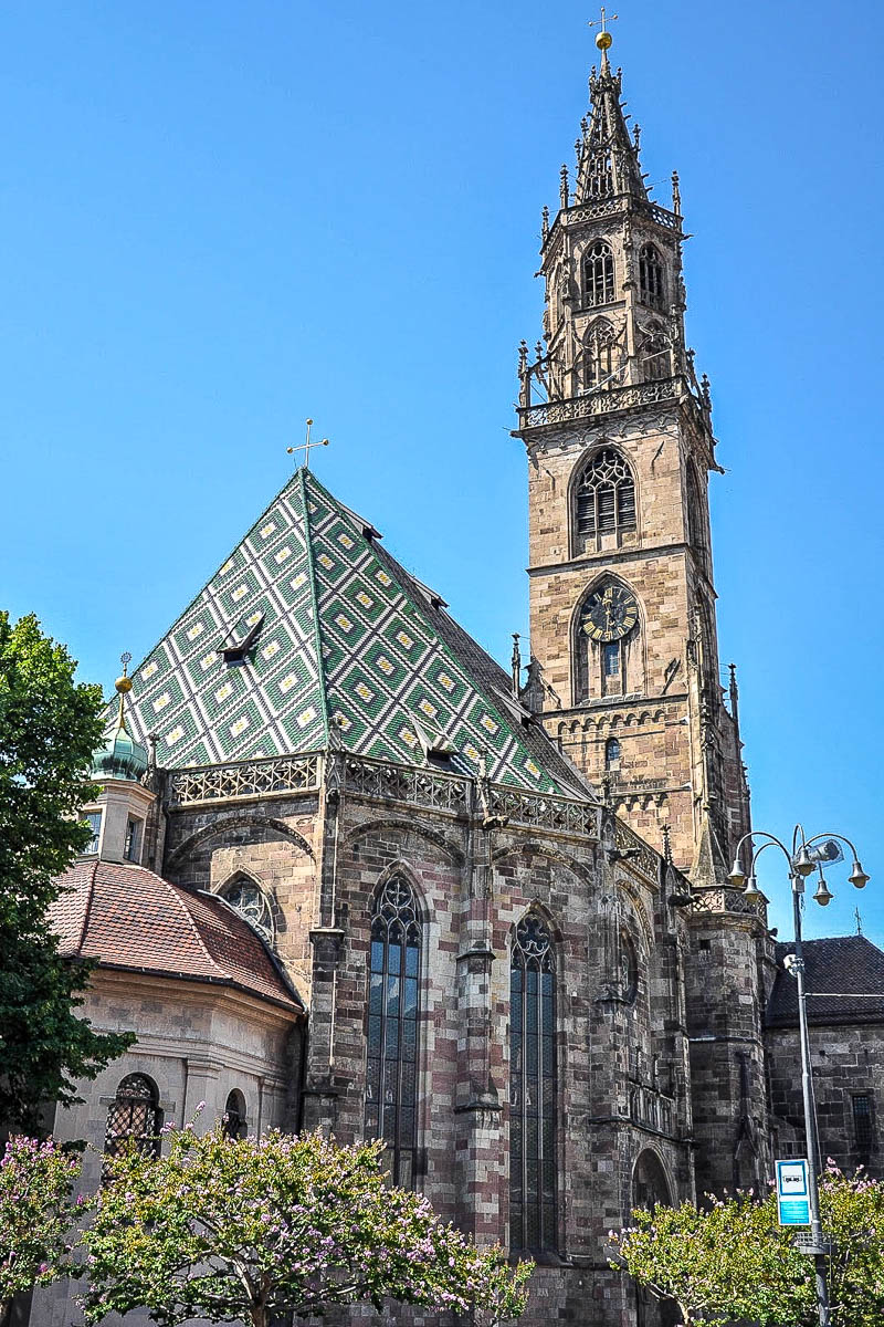 Assumption of Our Lady Cathedral - Bolzano, Alto Adige, Italy - www.rossiwrites.com