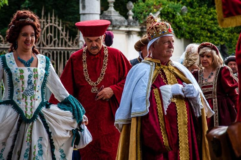 The Venetian Doge - Riviera Fiorita - Villa Pisani - Stra, Veneto, Italy - www.rossiwrites.com