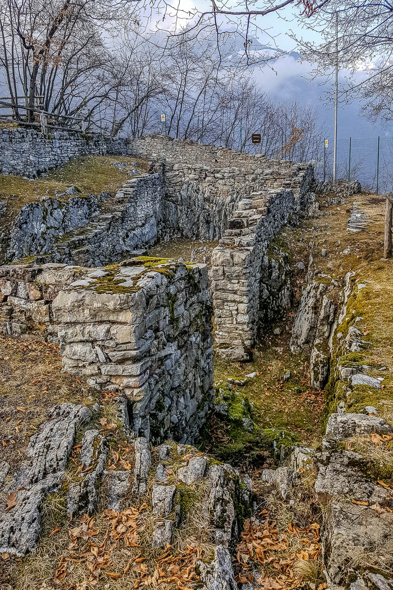 Archaeological digs - Mount San Martino - Trentino, Italy - www.rossiwrites.com