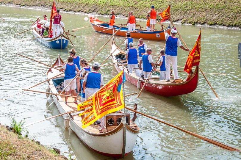 Caorlina boats - Riviera Fiorita Event - Stra, Veneto, Italy - www.rossiwrites.com