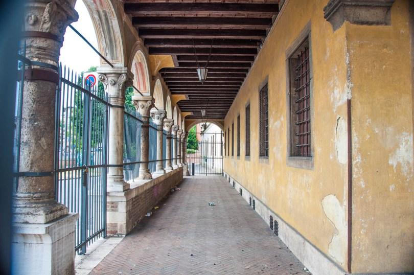 The Arcade of Palazzo Angaran - Vicenza, Veneto, Italy - www.rossiwrites.com