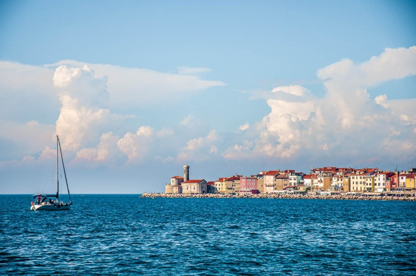 View of Piran, Slovenia - www.rossiwrites.com