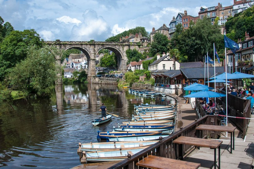 View of Knaresborough, North Yorkshire, England - www.rossiwrites.com