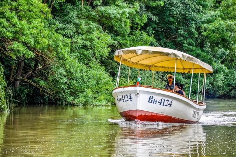 A boat on Kamchia River - Varna, Bulgaria - www.rossiwrites.com
