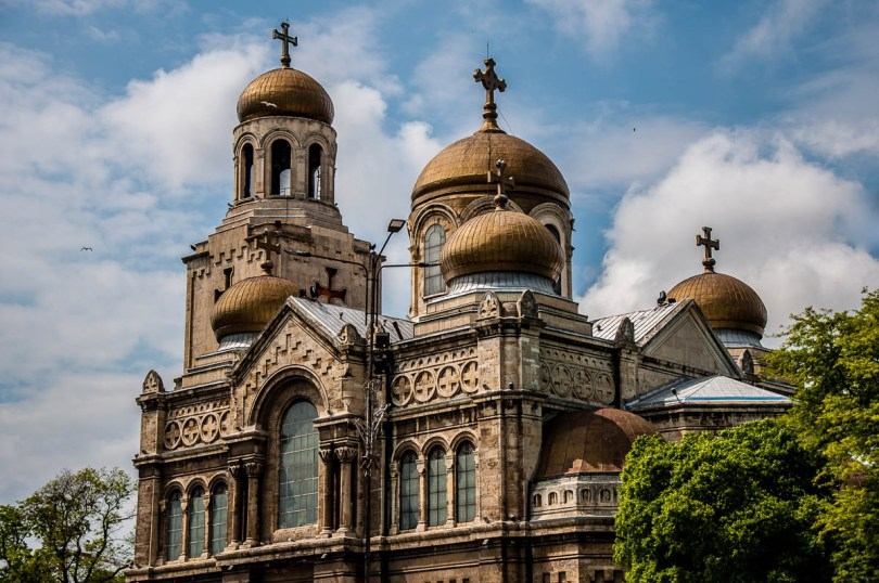 Dormition of Mother of God Cathedral - Varna Bulgaria - www.rossiwrites.com