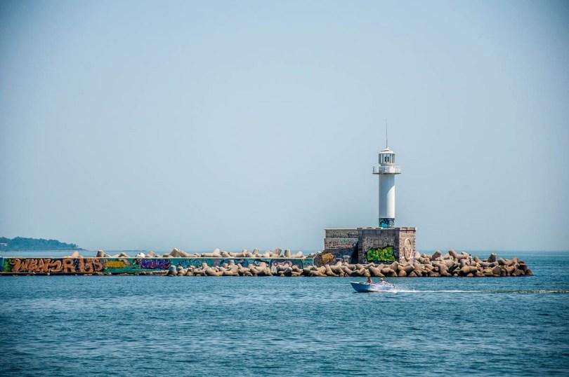 Varna's Lighthouse - Varna, Bulgaria - www.rossiwrites.com