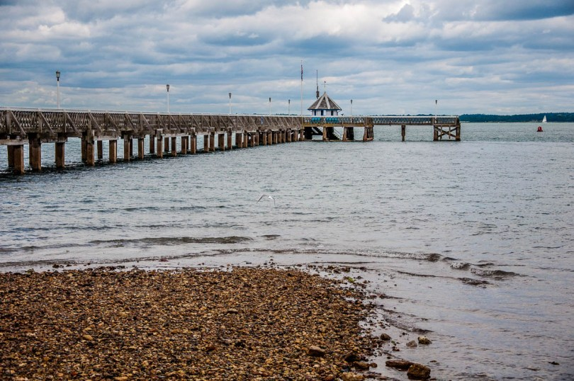 The Wooden Pier - Yarmouth, Isle of Wight, England - www.rossiwrites.com