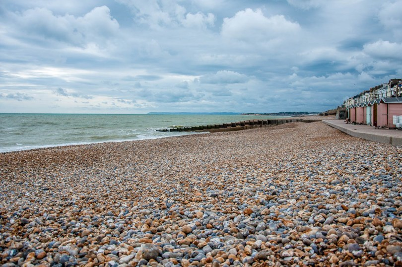 The beach - St. Leonards-on-Sea - Hastings, England - www.rossiwrites.com