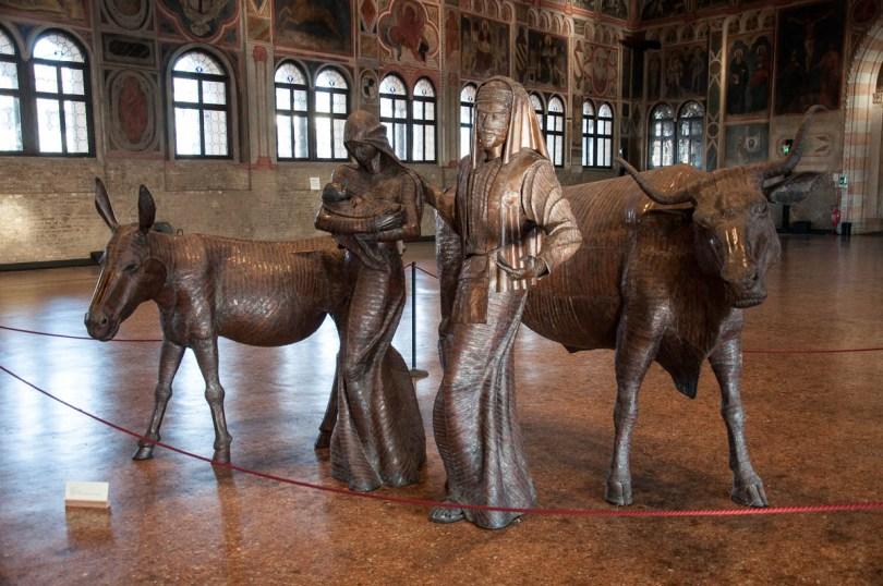 A Nativity Scene - Palazzo della Raggione, Padua, Veneto, Italy - www.rossiwrites.com