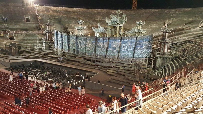 After the performance - Verona Opera Festival - Veneto, Italy - www.rossiwrites.com