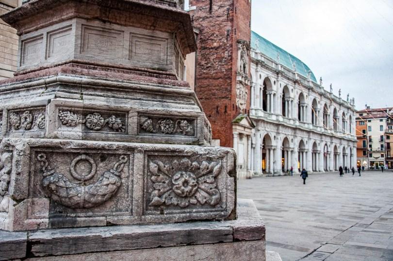 A view of Piazza dei Signori - Vicenza, Italy - www.rossiwrites.com