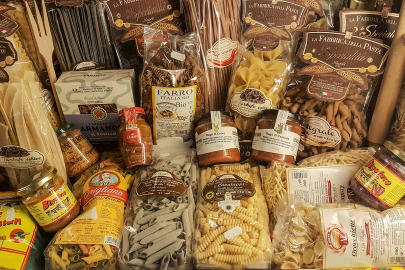 Italian pasta - Vicenza, Italy - Italian food - rossiwrites.com