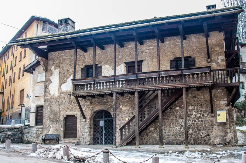 Titian's birth house - Pieve di Cadore - Province of Belluno, Veneto, Italy - www.rossiwrites.com